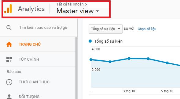 Hướng dẫn đo event click trên website bằng Google Analytics